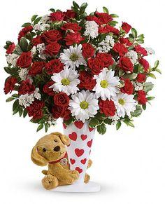 Send a Hug I Ruff You by Teleflora Flowers