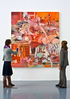 1000 thread count - Cecily Brown, 2004