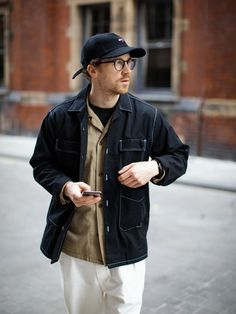 ITEM Street Look, Men Street, Street Style, Mens Fashion, Fashion Outfits, Street Fashion, Work Suits, Work Casual, Fitness Fashion