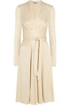 Issa Wrap-effect silk-jersey dress | NET-A-PORTERAbsolutely Breathtaking!!!