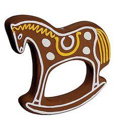 Deko XXL-Lebkuchen-Pferd 25 cm & Dekoration bei DekoWoerner