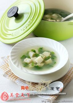 荠菜鳕鱼汤