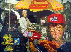 Todd Schorr Lovecraft's Fried Seafood Cart