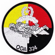 ODA-324 Patch  United States ARMY B Co 1st Battalion 3rd Special Forces Group Operational Detachment A...
