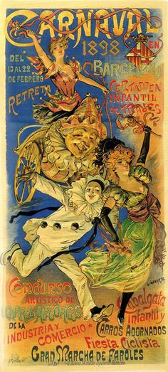 cartel carnaval barcelona