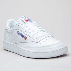 Reebok Club C 85 SO White/Lgh Grey - Karltex