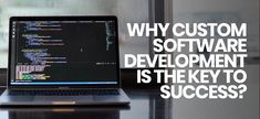 Why #customsoftwaredevelopment company is the key to success  We are using #Internet to present our business stuff in different ways & there are #ecommerce, #music, #business etc #websites present. A Template theme design can't fit into the different requirement. #CustomSoftware development company can provide you the solution according to your Industry niche. #softwaredevelopmentcompany #softwaredeveloper #software