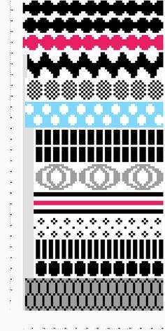 marimekko villasukat - Google-haku Knitted Mittens Pattern, Crochet Socks, Knitting Socks, Knit Crochet, Knitting Charts, Knitting Stitches, Knitting Patterns, Crochet Patterns, Fair Isle Knitting