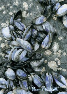Feeling Blue Eggplant, Blue, Art, Kunst, Eggplants, Art Education, Artworks
