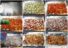 No soy un blog de cocina: PIZZA DE CALABACÍN