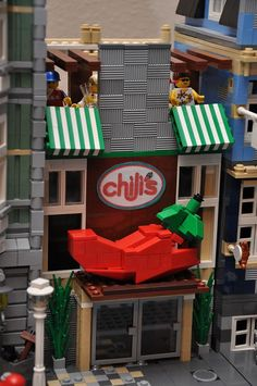 LEGO City South West Grill Restaurant