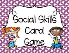 This Social Skills Freebie is a quick, minimal prep card game that addresses social skills and feelings. Perfect for students working on their social skills! Included: 14 'What is wrong with this?' Cards14 'What should you do?' Cards14 'How did you feel?' Cards4 Game Mats2 Pages of star markersYour students will have fun working on their social skills while also playing a game!