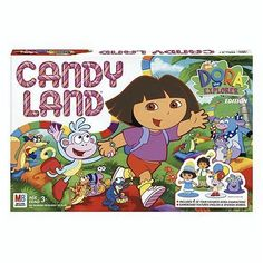 Candy Land - Dora The Explorer by Hasbro, http://www.amazon.com/dp/B00067AE44/ref=cm_sw_r_pi_dp_VXmVrb07E1R58