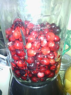 Cranberries appear to be everywhere this time of year! I love them frozen in smoothies, cranberry sauce, cranberry relish, in fact, I can't think of cranberry anything… Cranberry Jalapeno Jelly Recipe, Jalapeno Jelly Recipes, Jalapeno Pepper Jelly, Pepper Jelly Recipes, Cranberry Relish, Cranberry Recipes, Jam Recipes, Canning Recipes, Dressings