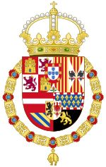 Royal Coat of Arms of Spain (1580-1668)