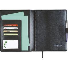 Caderno Preto 50 Folhas Executivo com Sobrecapa Cambridge - Tilibra