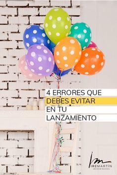 Errores que debes evitar en un lanzamiento #Emprendersinsufrir #vendermas #emprendedoras #soyiremartin #emotionalbusiness