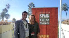 American Film Market 2011. Santa Mónica. Con rafael Cabrera del ICAA