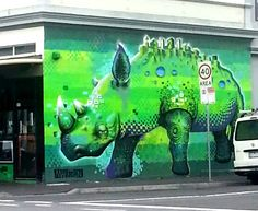 Street Art - Bridge Rd & Hunter St Richmond Melbourne - Australia