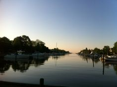 Head of Brightwaters Canal.    Photo Credit: Executive Director of FTZ Tracey Krut.