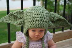 Ravelry: Yoda Hat Crochet Pattern pattern by Tory Feyko