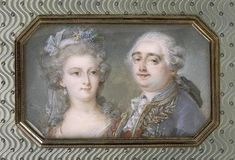 Miniature of Marie and Louis.