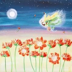 Night Flight by Deborah Mores Art