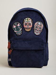 SASQUATCHfabrix Eototo Men's Skull Back Pack