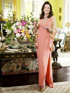 """Patricia Altschul's Derby Party is full of Southern Charm. When it comes to attire, Patricia simply instructs guests to wear """"Derby attire"""" on the invitations. For women, this typically includes a white or pastel dress, while men don seersucker suits and bow ties. For indoor parties, she suggests skipping the hat."""