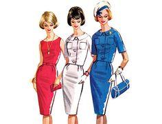 1960s Dress Pattern McCalls 6268 Sexy Sheath & by FriskyScissors, $20.00