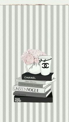 ❄WALLPAPERS❄ — Chanel wallpapers For book lovers who love to binge new novels with loads of coffeeee Book Wallpaper, Cute Wallpaper For Phone, Fashion Wallpaper, Tumblr Wallpaper, Wallpaper Backgrounds, Iphone Wallpaper, Coco Chanel Wallpaper, Chanel Wallpapers, Cute Wallpapers
