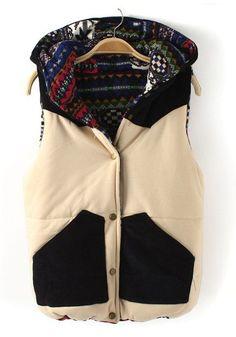 Corduroy Christmas Vest