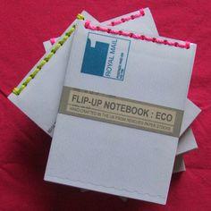 Flip Up Notebook - Folksy