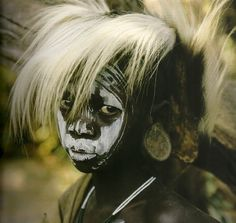 Eyes ~ Mirrors of the soul in Africa ~ © Hans Silvester. Courtesy Marlborough Gallery.