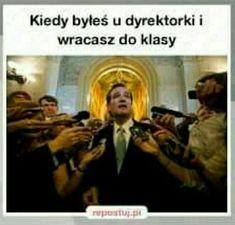 Funny Mems, Funny Jokes, Hilarious, Funny Lyrics, Polish Memes, Dark Sense Of Humor, Aesthetic Memes, School Memes, Good Mood