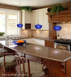 Ordinaire A Traditional Kitchen With Bold Asian Inspired Lighting.   Lighting U0026amp;  Decor By
