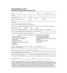59 Best Massage Intake Forms for any Client - Printable Templates Online Templates, Free Website Templates, Massage Intake Forms, Bubble Drawing, Form Example, Job Application Form, Order Form Template, Web Forms, Checklist Template