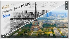 Postcards from Paris (Old & New) http://vimeo.com/98476853