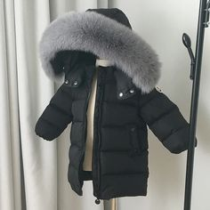 Children's clothes boys and girls long down jacket thick ski jacket 5 Ml, Down Parka, Canada Goose Jackets, Boy Outfits, Boys, Girls, Skiing, Boy Or Girl, Winter Jackets