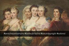 Allegoria delle quattro stagioni - Circolo di Joseph Mellig (1724-1796) Se i quadri potessero parlare