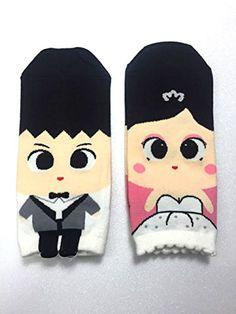 MIRINE Couple Character Cotton Socks Series 2 pairs (Wedding) MIRINE http://www.amazon.com/dp/B01CMH0X82/ref=cm_sw_r_pi_dp_FY55wb1CGHZGX