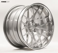 Built for both style and performance, this great example of the Forgeline DE3C Concave wheel is finished with a Brushed center and Polished outer. Learn more about the DE3C (including sizes and pricing) at: http://www.forgeline.com/products/concave-series/de3c-concave.html #Forgeline #DE3C #notjustanotherprettywheel #madeinUSA