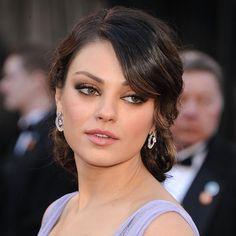 Tutorial for Mila Kunis' Oscars makeup