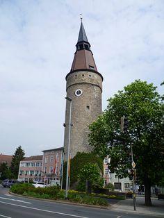 ღღ Kitzingen, Bayern, Deutschland (Falterturm), schiefer Turm von Kitzingen (Torre pendente di Kitzingen, Leaning Tower of Kitzingen, Torre inclinada de Kitzingen, la Tour penchée de Kitzingen), via Flickr.