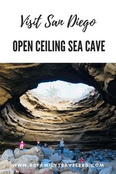 open ceiling cave - Travel San Diego - Ideas of Travel San Diego California Vacation, California Coast, Imperial Beach California, Oceanside California, California Living, Southern California, San Diego Hiking, San Diego Travel, Cool Places To Visit