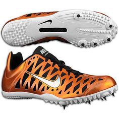 Want these nike spikes so bad!  tiger