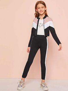 Tween Fashion, Girls Fashion Clothes, Teen Fashion Outfits, Girl Fashion, Kids Outfits Girls, Cute Outfits For Kids, Pretty Outfits, Girl Outfits, Ropa Teen Wolf