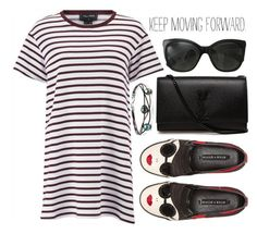 """Keep on Keeping On :)"" by nonniekiss ❤ liked on Polyvore featuring The Fifth Label, Alice + Olivia, Yves Saint Laurent, Chanel and nonniekiss"