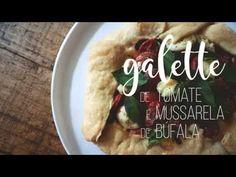 galette de tomate e mussarela de búfala – Francinha Cooks