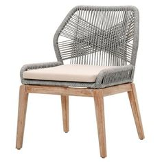 Mistana Kiley Upholstered Dining Chair (Set of Upholstery Color: Platinum furniture etsy furniture living rooms furniture bedroom furniture beds Solid Wood Dining Chairs, Outdoor Dining Chairs, Upholstered Dining Chairs, Dining Chair Set, Dining Room Chairs, Office Chairs, Desk Chairs, Bag Chairs, Lounge Chairs